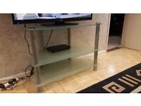 TV STAND AND GLASS UNIT FOR SALE (BARGIN)