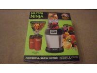 NUTRI NINJA 2nd hand, outstanding condition, still in original packaging!