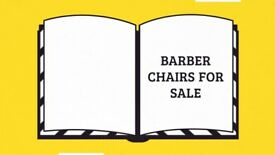 Barber Chairs and Barbering Equipment