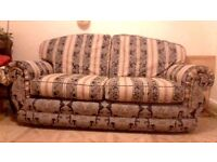 Fabric Sofa + Free Armchair