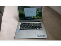 Chromebook silver, 14 inch, good as new
