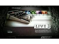 **DIGITECH VOCALIST LIVE 3 FX** NEW**MULTI HARMONY**