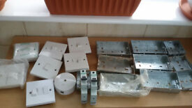 ELECTRICAL ITEMS AND METAL BACK BOXES