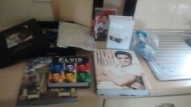 Elvis Memorabilia + extra books added in another pic