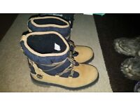 brand new timberland wool lined boots