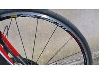 Kona 2010 Zing Deluxe Road Bike 53cm Frame Shimano Ultegra 105 Mavic Aksium