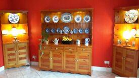 Welsh dresser and units