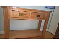 Solid wood Sideboard with two drawers for Dining Room/Living Room/Hall £50