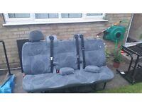 Transit Tourneo Folding Rear Bench Seat