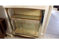 Vintage Marbled Display Cabinet in Good Condition