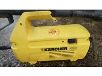 Karcher 410 Electric Pressure Washer with hose, lance and car washing brush 1650W
