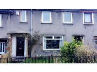 3 bedroom house to rent with front & back Garden