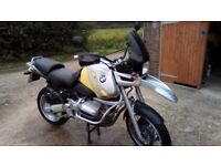 BMW R850gs mile muncher