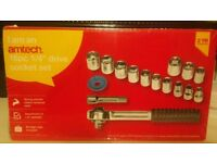 16 piece socket set (brand new)