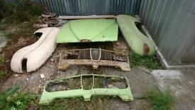 Saab 95 96 99 900 v4 barn find parts