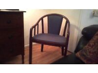 FREE Hard wood chair (poss -50/60 years old)