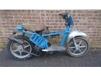 Filed Bike Piaggio liberty 50 2 stroke off road, moto x, moto cross