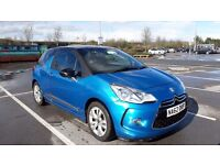 Citroen DS3 Diesel 1.6 e-HDI Airdream DStyle 3dr, Blue
