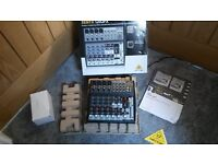 Behringer XENYX 1202FX 12 Input; 2 Bus; MIC / LINE Mixer For Sale