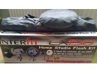 Interfit EX 150 mark 2 Studio Flash Kit