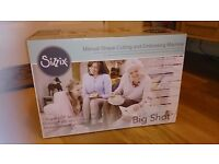 Sissix big shot die cutting and embossing machine brand new boxed