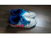 Nike football boots kids size 1