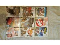 8 Wii games & 1 PS3