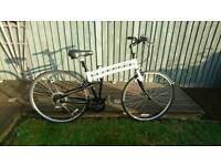 "Montague Folding Bike. 17"" Frame Size,Full Size Mountain Bike"