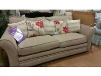 New Large 2 seater sofa sml hole on back of armrest