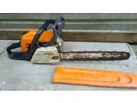Stihl ms 181 in used condition working order can deliver or post