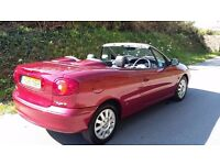 Renault Megane Convertible - exceptional - only 47000 miles, 1.6 petrol, manual