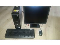 Dell optiplex dual core 2 duo pc