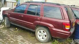 Jeep grand cherokee 2.7 diesel 2003reg breaking for parts