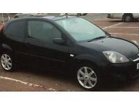 2008 Ford Fiesta Zetec S 1.25 Panther Black 93k 12 months MOT Parking Sensors Alloys New tyres