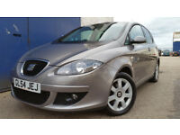 2005 SEAT ALTEA 1.6 PETROL NEW MOT NEW CAMBELT GOOD SPEC WARRANTY EXCELLENT