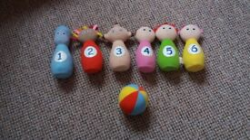 complete in the night garden skittles - immaculate condition