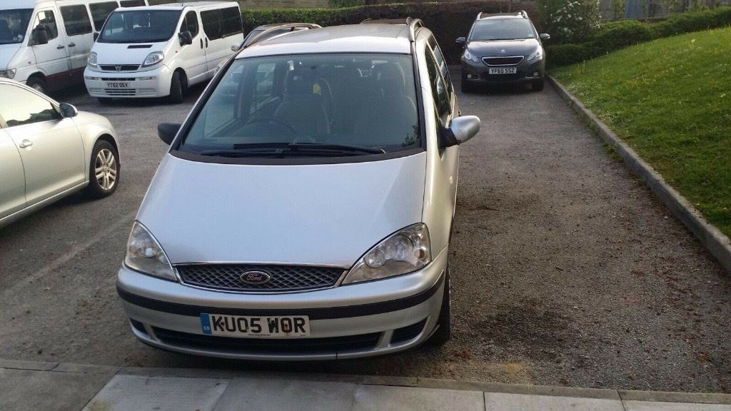 2005 Ford galaxy 1.9 tdi Long MOT manual 6 spd. Good condition. DRIVE AWAY like sharan alhambra
