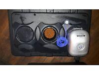 Hydroponics 90 Litre DWC Large OXY Pot Air Bubbler System, Air Pump & Accessories
