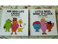 Mr and little miss adult books