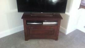 Television cabinet.