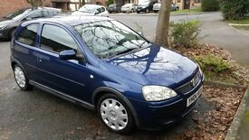 Vauxhall Corsa - 3 doors - Fine Condition - £800