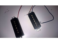 Pair of P90 pickups | Perfect working order (neck P-90R bridge P90-T Dogear Classic gold poles)