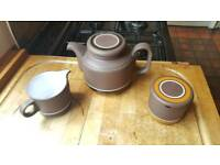 Hornsea tea set