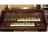 Organ. Eminent (Solina F225). Roll top lid and bench. FREE