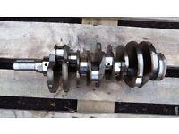 Crankshaft from jaguar 3.0cc V6 s type