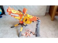 Nerf Gun Havok Fire EBF - 25 with Tripod + Extra Bullets