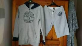 Boys timberland 14_16 shorts and hoody