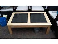 Coffee Table made from beachwood