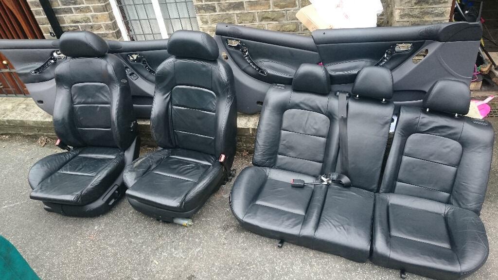 Seat Leon Mk1 Cupra Leather Interior - Electric Seats and Door Cards ...
