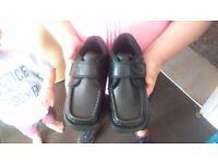 Kickers black shoes